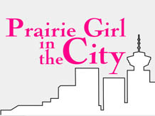 Prarie Girl in the City Logo